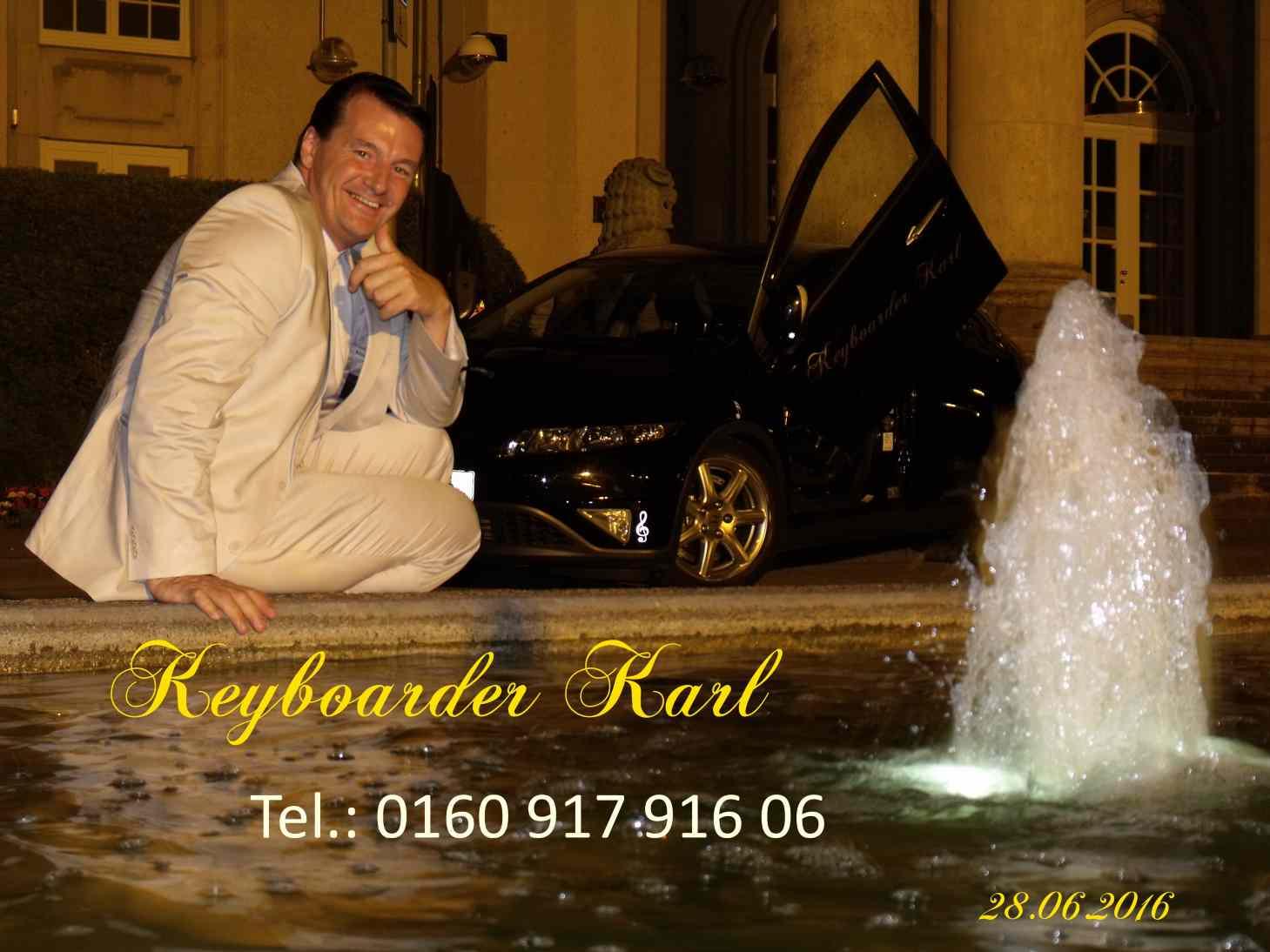 Alleinunterhalter NRW   Keyboarder Karl Hier Mit Foto Von 06   2016 Party  Dj Und Live