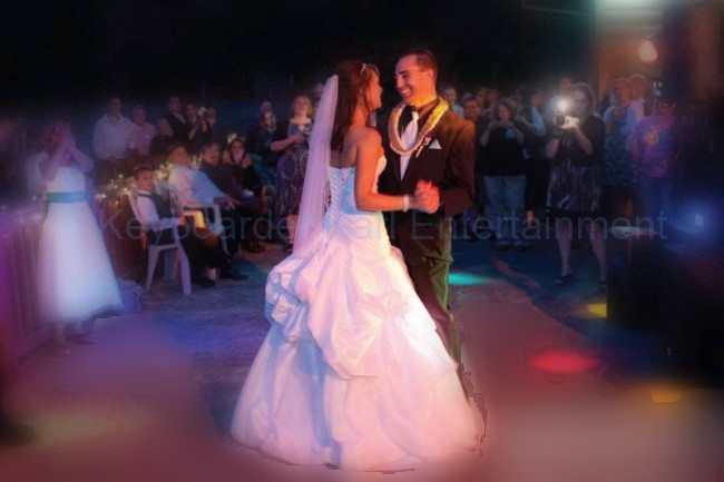 Alleinunterhalter Nrw und Party DJ Nrw Keyboarder Karl Eröffnungs Tanz bei Hochzeit